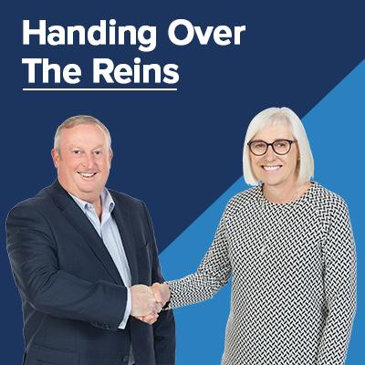 Handing over the Reins